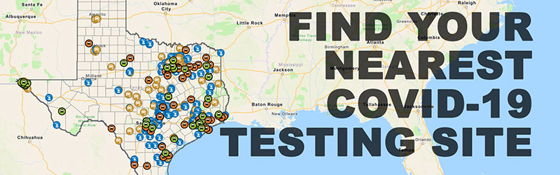 Find your nearest COVID-19 testing site