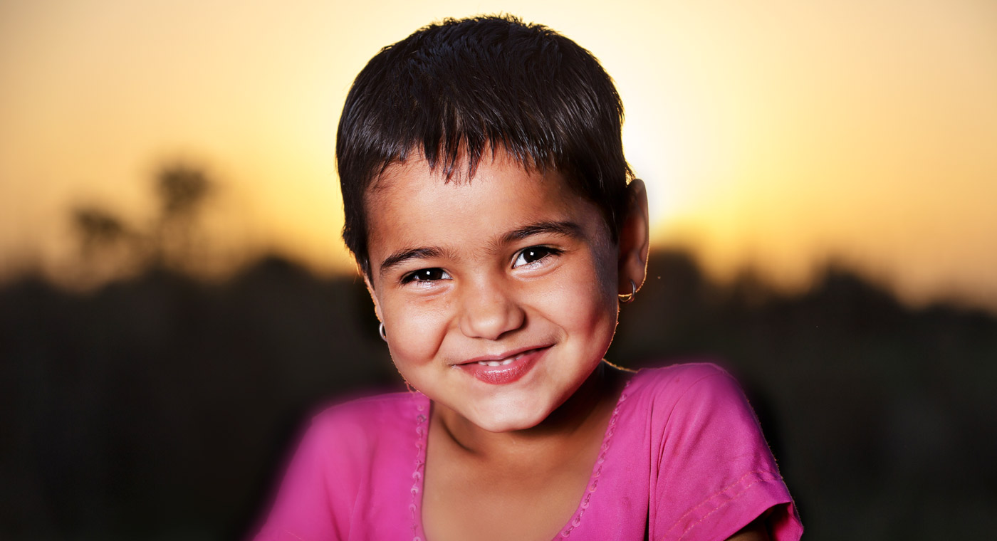 picture of a smiling young child