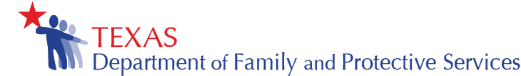 Texas Department of Family and Protective Services Logo
