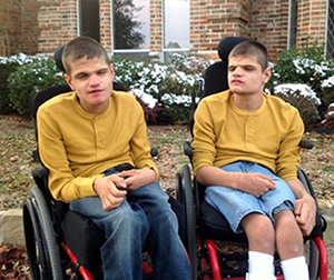 Twins Michael and Curtis Lewis have found a permanent home with foster parents Anita and Stan Tinney who are thrilled to finally have guardianship of the boys.