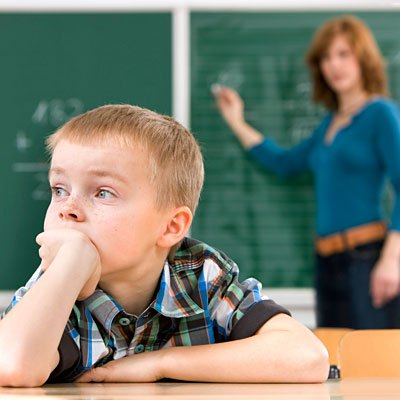 child not paying attention in classroom